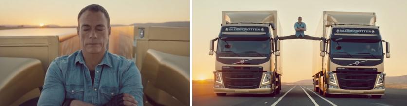 Viralité, mode d'emploi : Volvo Trucks x JCVD