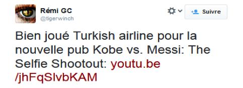 Buzz Story: MESSI vs KOBE par Turkish Airlines