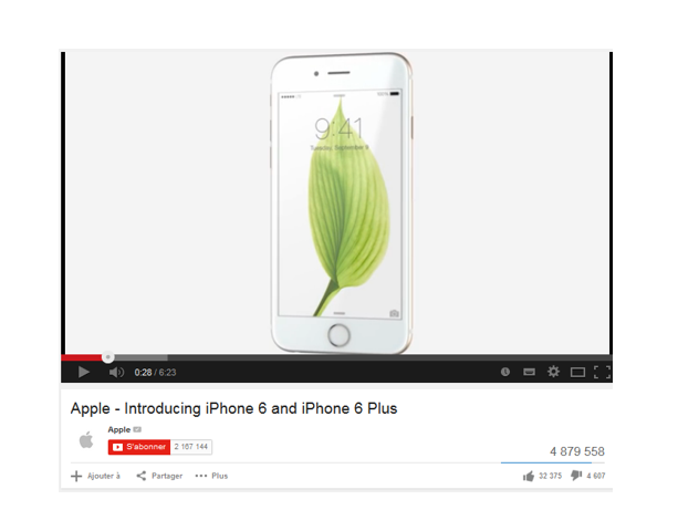 Buzz story : Iphone 6