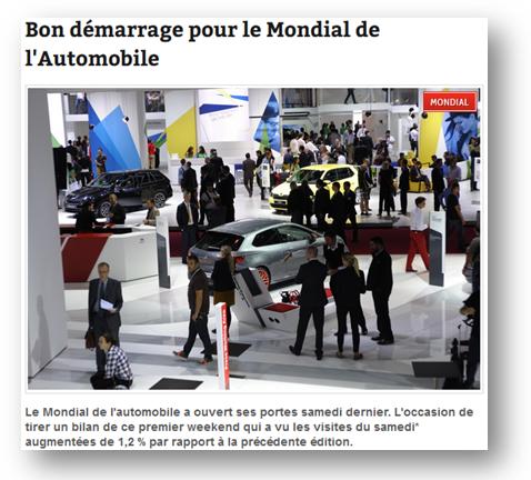 Buzz Story: Mondial de l'Automobile de Paris