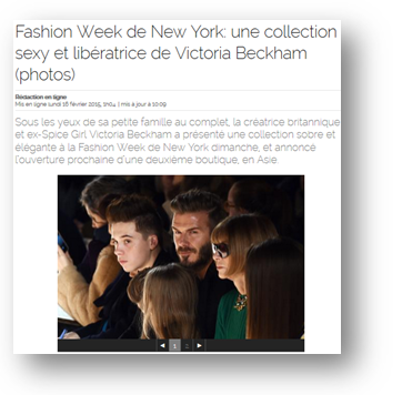Buzz Story: Fashion Week de New York 2015
