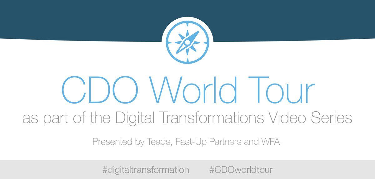 Teads est fier d'être partenaire du CDO World Tour de Fast-Up Partners, une série d'interviews passionnantes sur la transformation digitale des entreprises