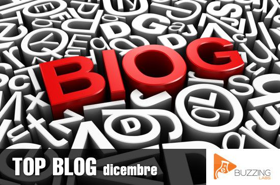 CLASSIFICA TOP BLOG - DICEMBRE 2013