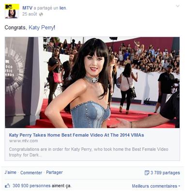 Buzz Story: MTV Awards 2014