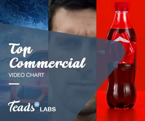 #TOPCOMMERCIAL VIDEO CHART: Coca-Cola, Jacob's Creek e Ubisoft sul podio