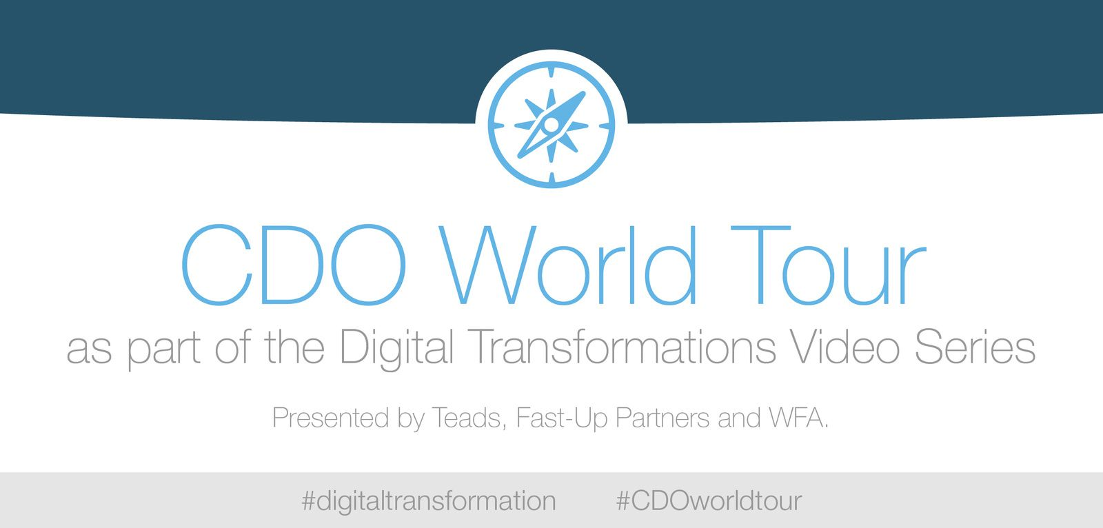 TEADS SUPPORTA IL CHIEF DIGITAL OFFICE WORLD TOUR