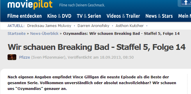 Buzz Story: Breaking Bad