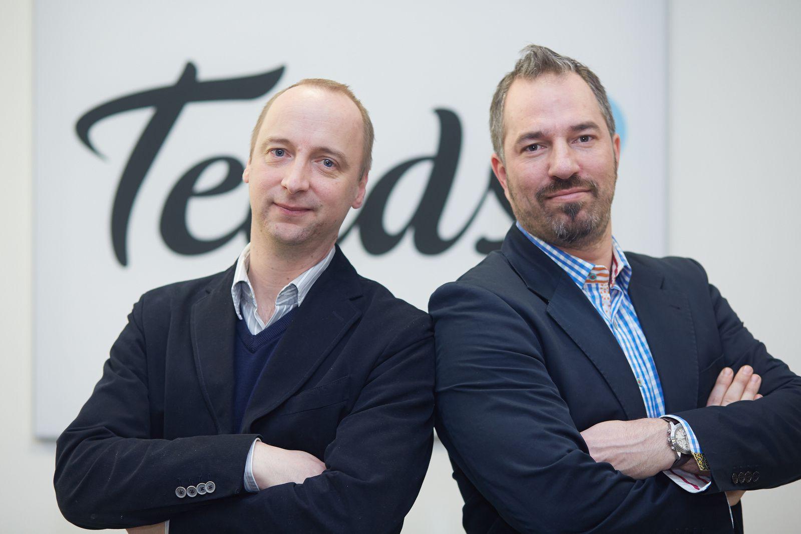 Von links: Florian Türk und Nicolas Poppitz.