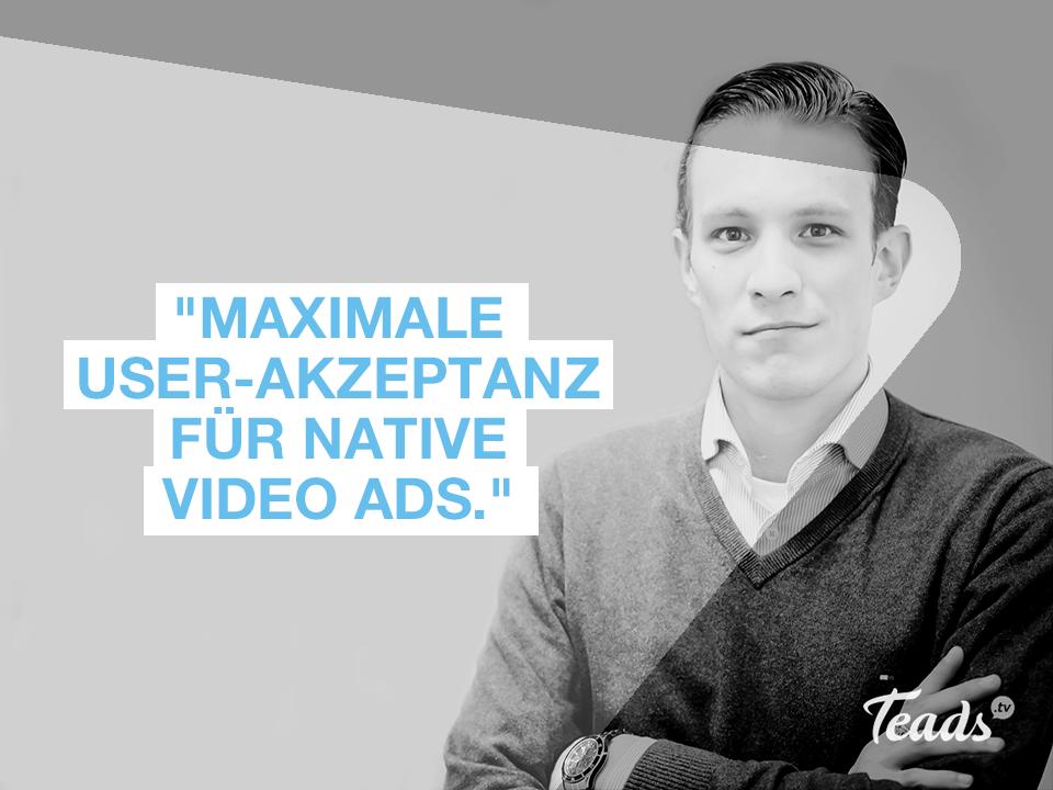 Florian Brill verantwortet das Marketing und die Unternehmenskommunikation bei Teads Deutschland.