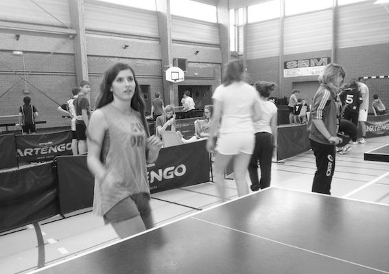 Compétition de Tennis de Table à Bourbourg