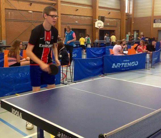 Compétition de Tennis de Table à Bourbourg