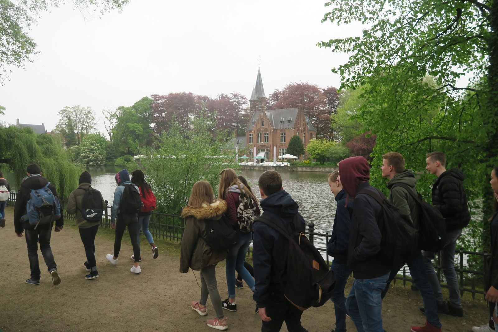 Erasmus+ : Journée à Bruges