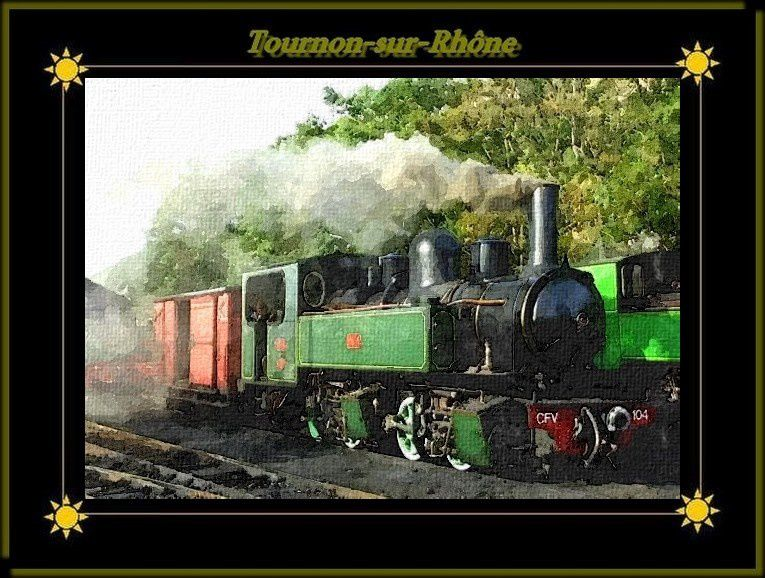 Dessine-moi le petit train &quot&#x3B;Mastrou&quot&#x3B;