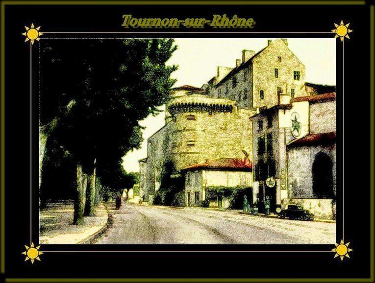 Dessine-moi Tournon-sur-Rhône...
