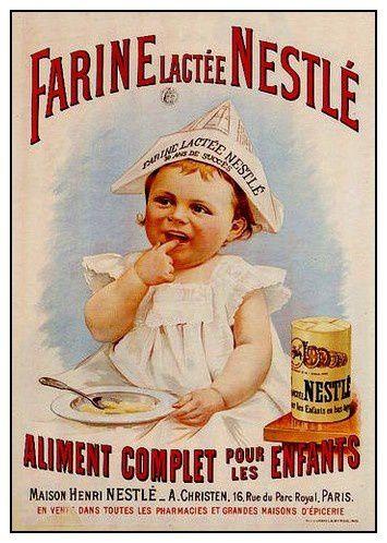 Les affiches publicitaires d'autrefois ...