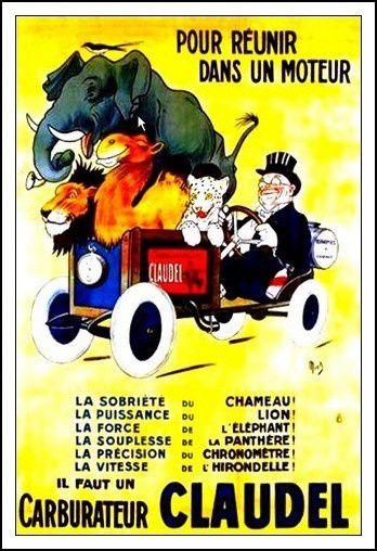 Les publicités des années 60-70