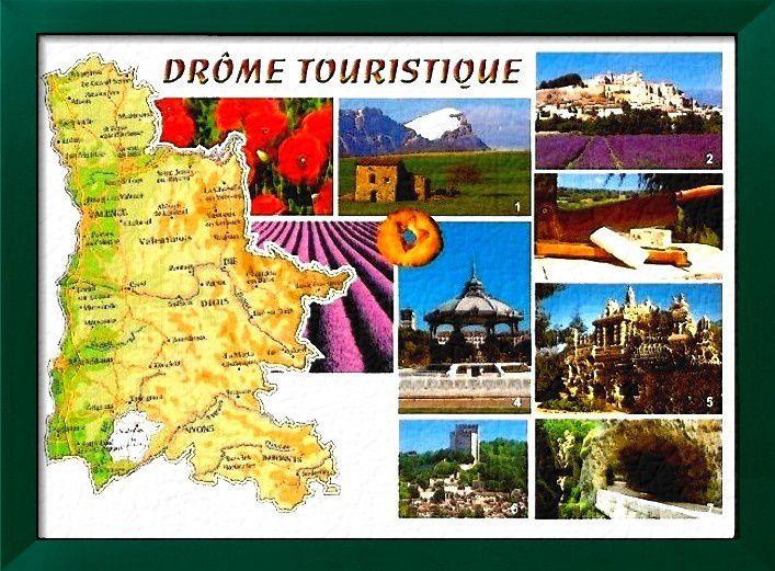 La Drôme a été créé à la Révolution française, le 5mars1790