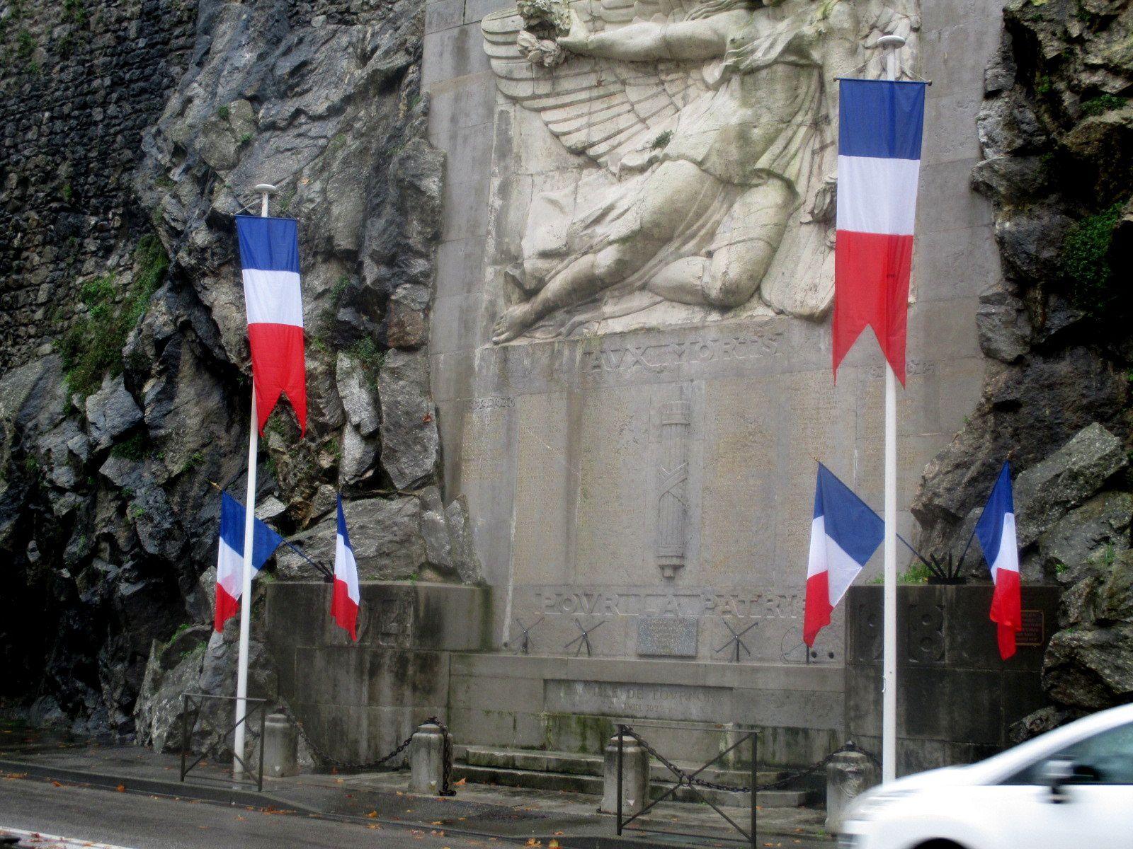 96ème anniversaire de I'Armistice du 11 novembre 1918. à Tournon
