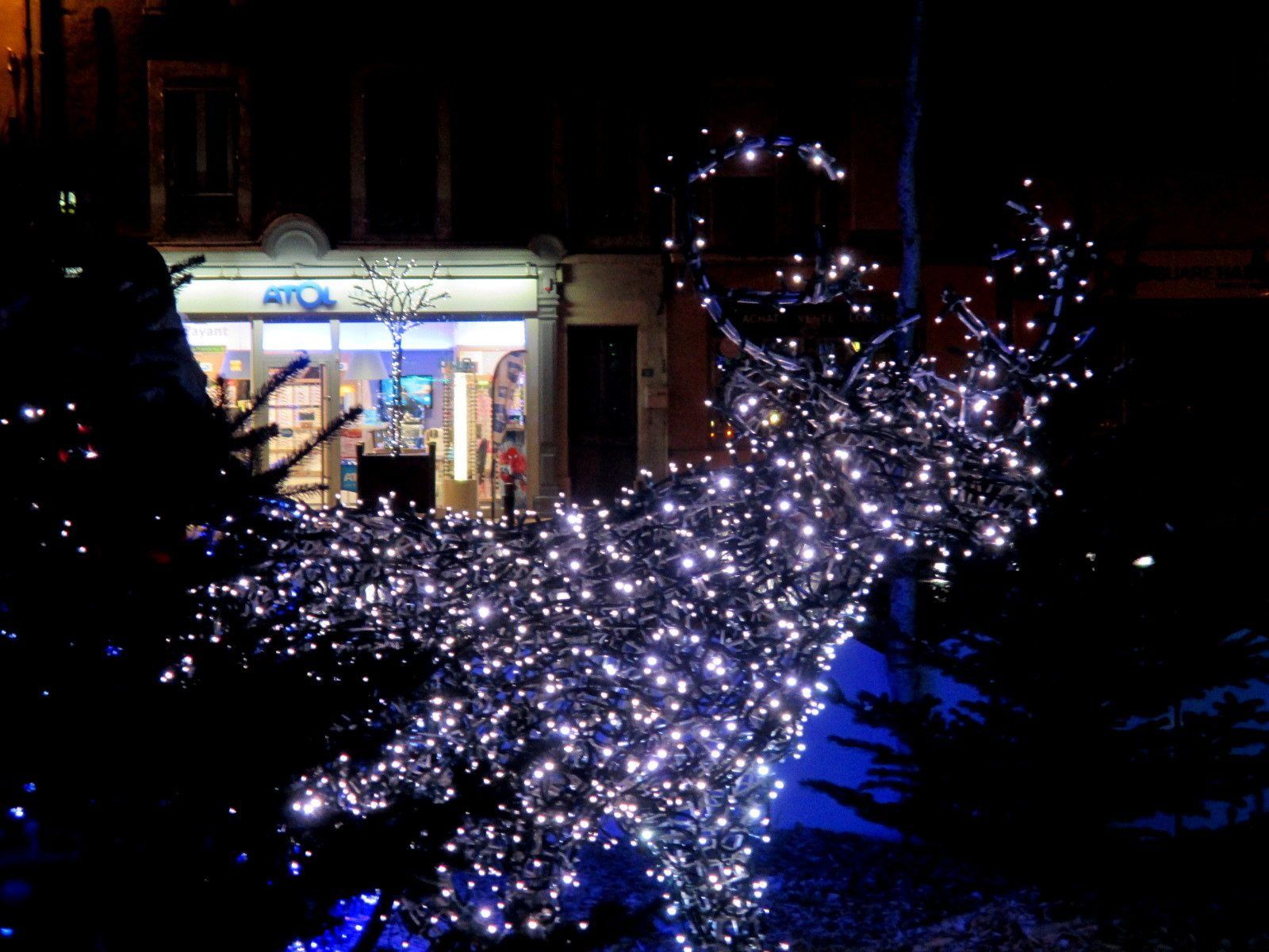 Illuminations de Noël à Tain et Tournon 2014