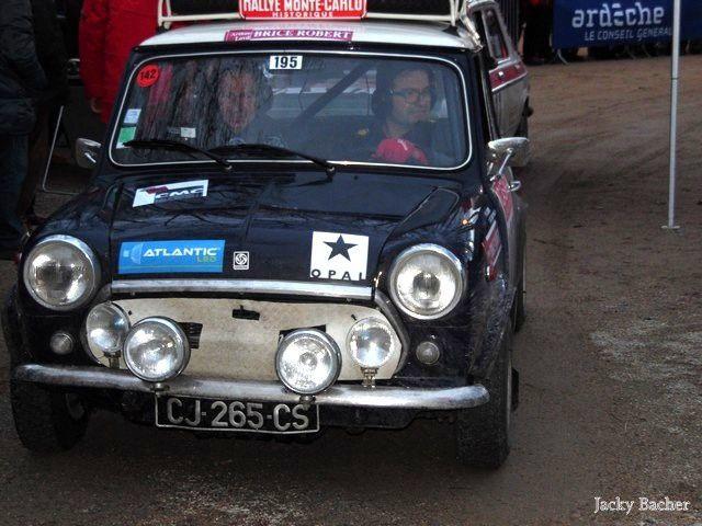 Le18e Rallye Monte-Carlo Historique à Tournon-sur-Rhône.