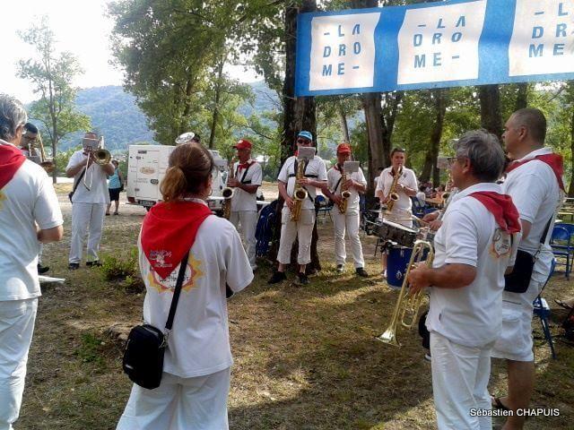 La Cycloyenne s'est déroulée dimanche 7 juin 2015 sur le site du Village du Lac des Pierrelles à Mauves (Ardèche)