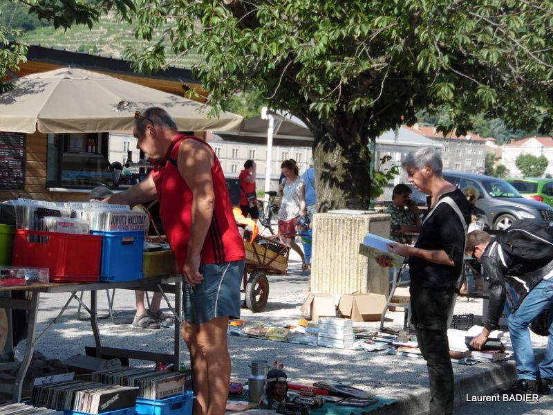 Brocante du 14 juillet 2015 à Tain-l'Hermitage