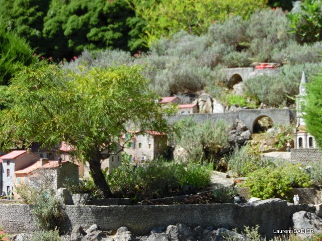 Ardèche miniatures Parc d'attractions à Soyons, France.