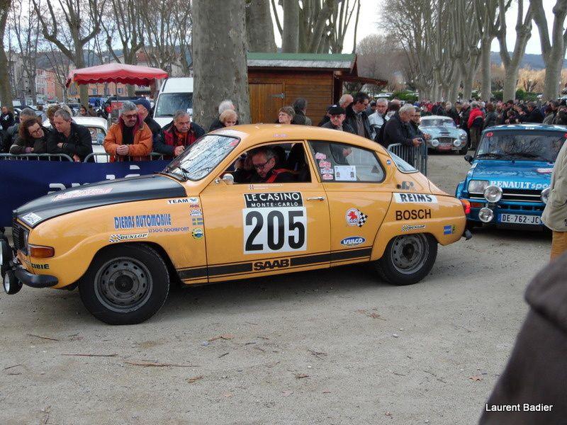 Rallye Monte-Carlo Historique 2016. Tournon s/Rhône