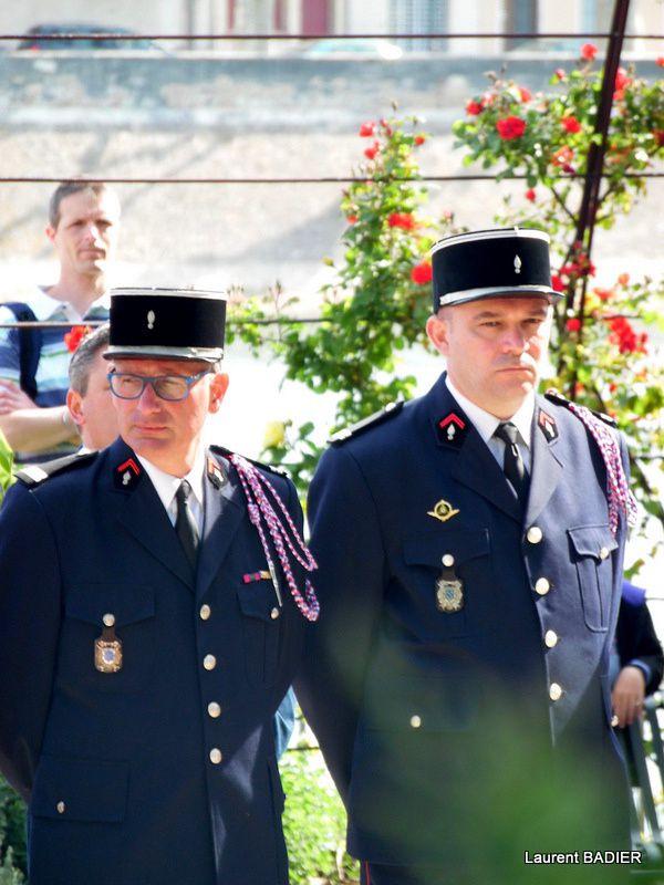 Cérémonie 71 anniversaire de la victoire du 8 Mai à Tournon. 2016