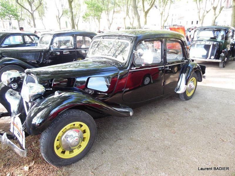 La 16ème Balade en Saint-Joseph des voitures anciennes a eu lieu le 05 juin 2016 à Tournon-sur-Rhône