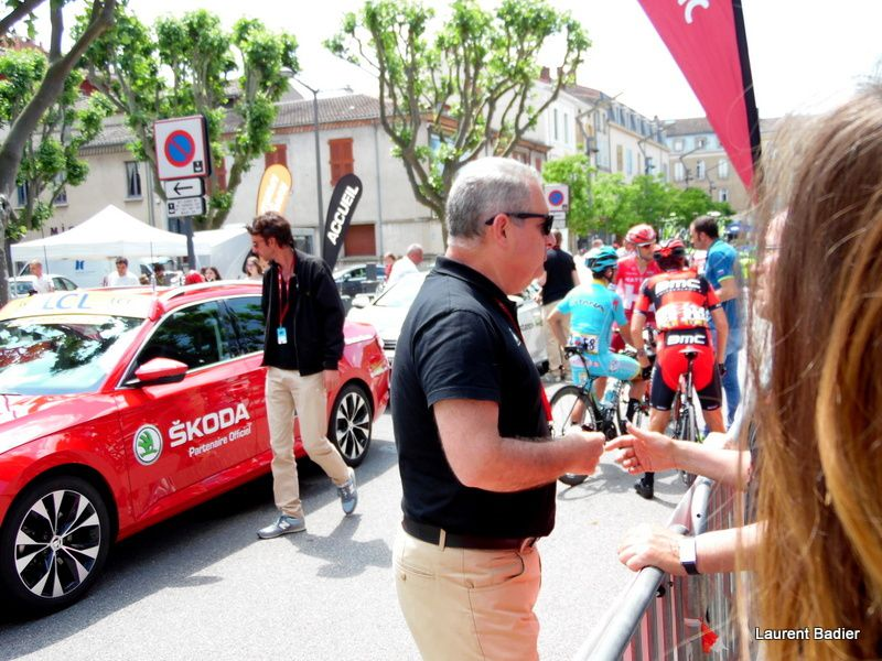Critérium du Dauphiné : Départ de Tain-l'Hermitage 4e étape entre Tain-l'Hermitage et Belley