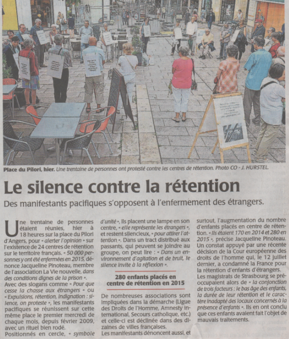 Le silence contre la rétention