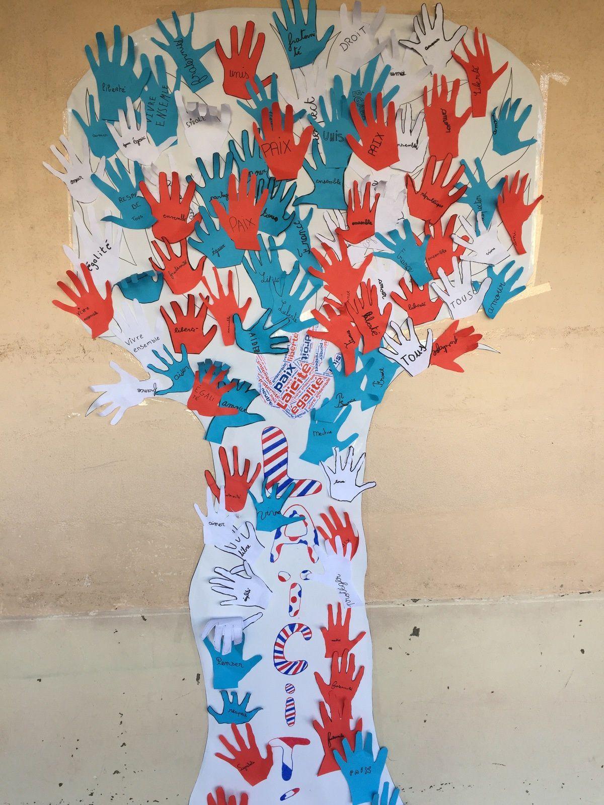 Angers - L'arbre de la Laïcité : un symbole régulièrement vandalisé