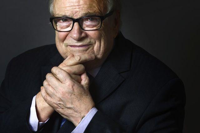 Henri Leclerc, grand avocat pénaliste, pose en 2014 © AFP / JOEL SAGET