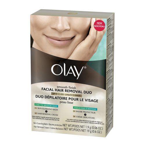 Olay Smooth Finish Facial Hair Removal Duo Fine To Medium 1 Kit
