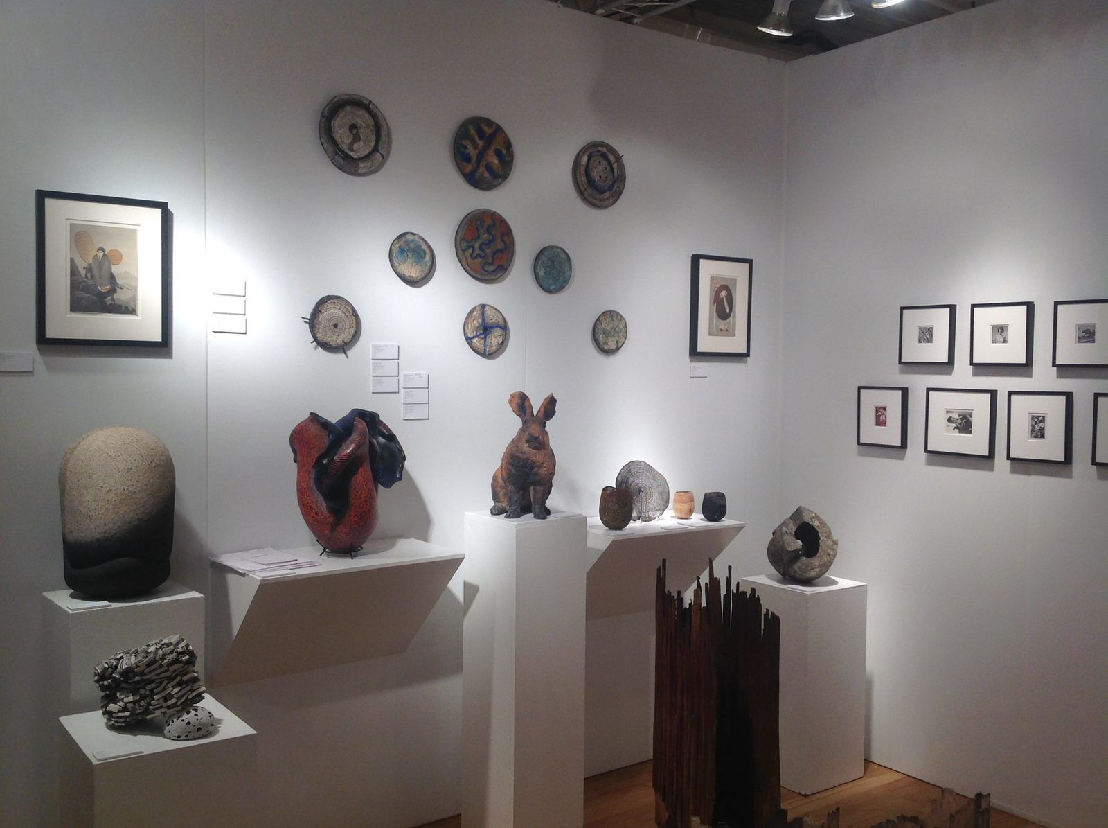 The Metro Show 2015 avec la Galerie Cavin-Morris, New York.