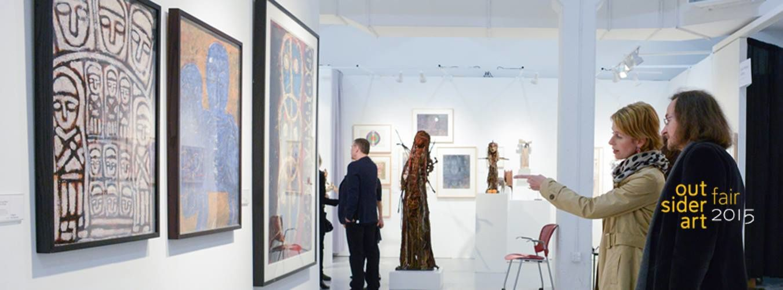 Prochaine exposition : Outsider Art Fair 2015 New York