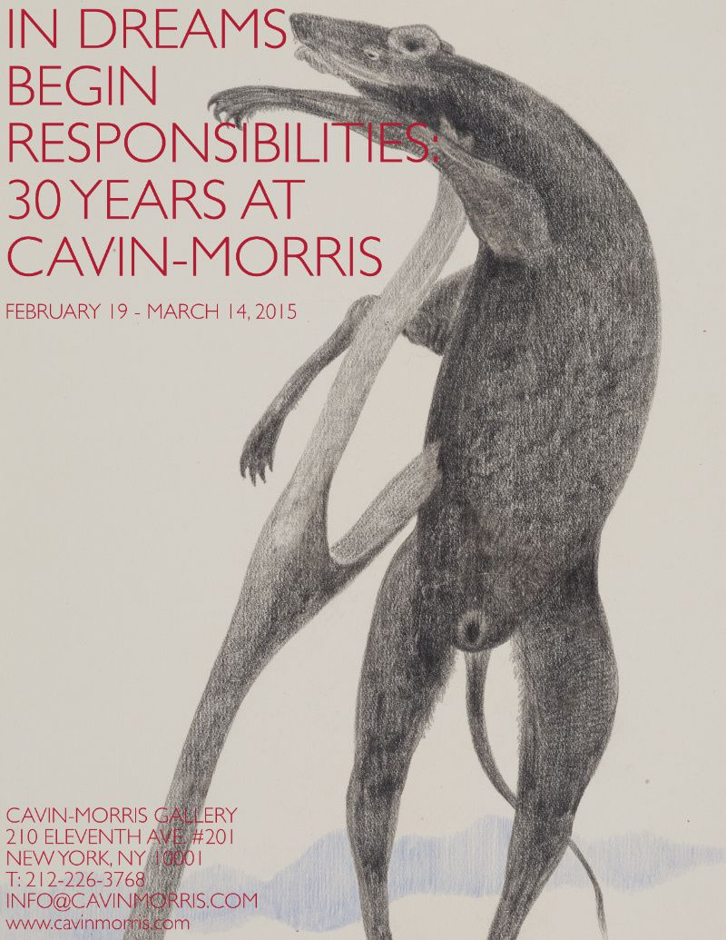 IN DREAMS BEGIN RESPONSABILITIES : 30 YEARS AT CAVIN-MORRIS