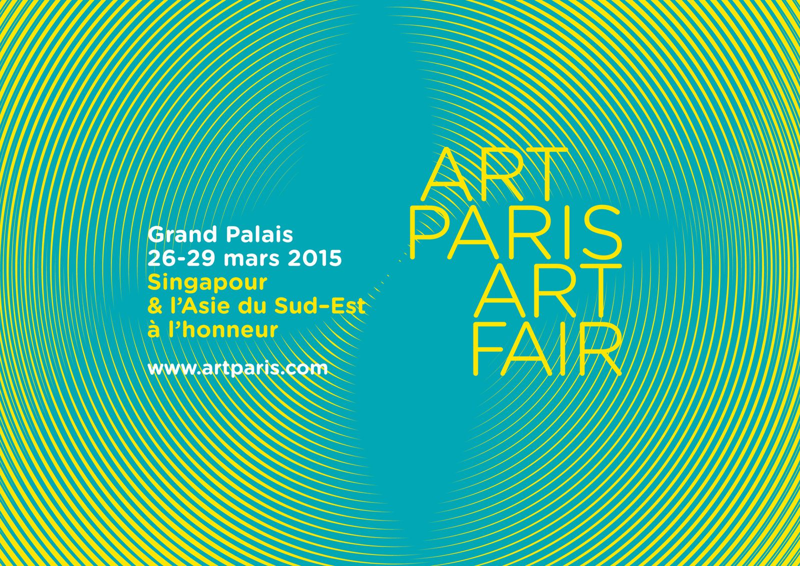 Prochaine exposition : Art Paris Art Fair 2015