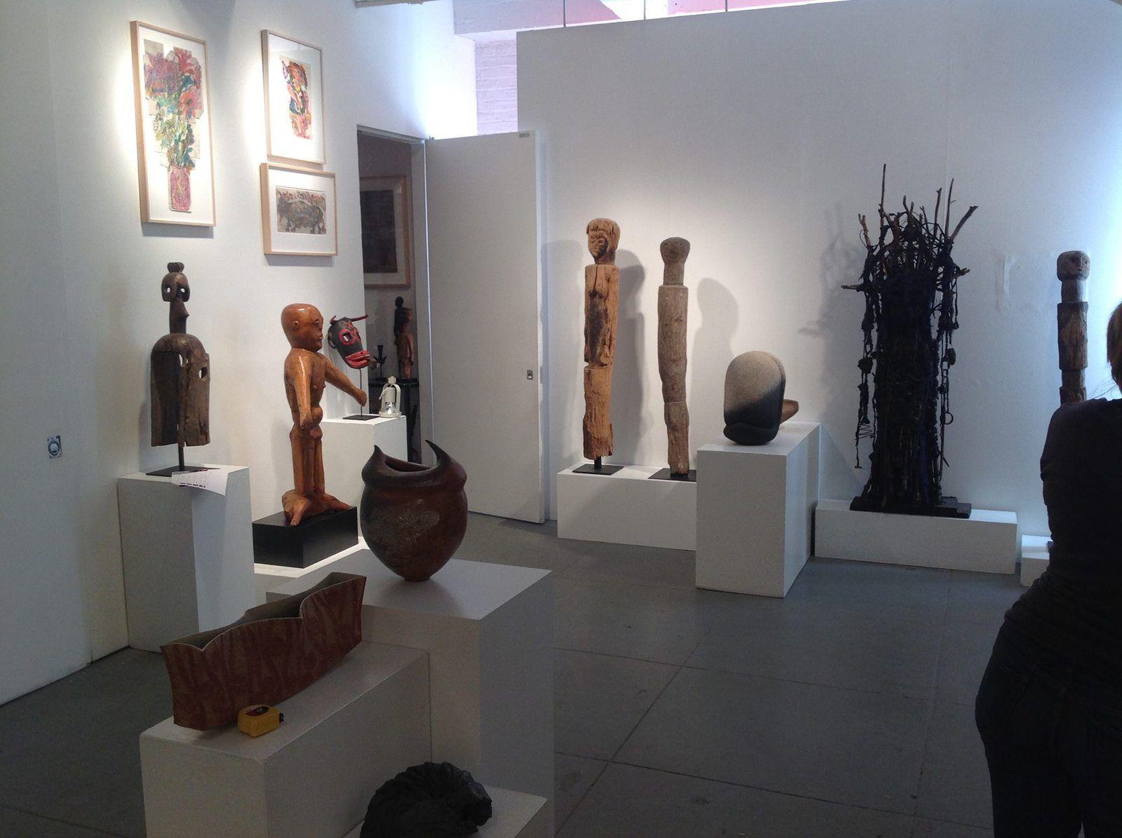 Installation de l'exposition Rhizome 2015 - Photos Cavin-Morris Gallery