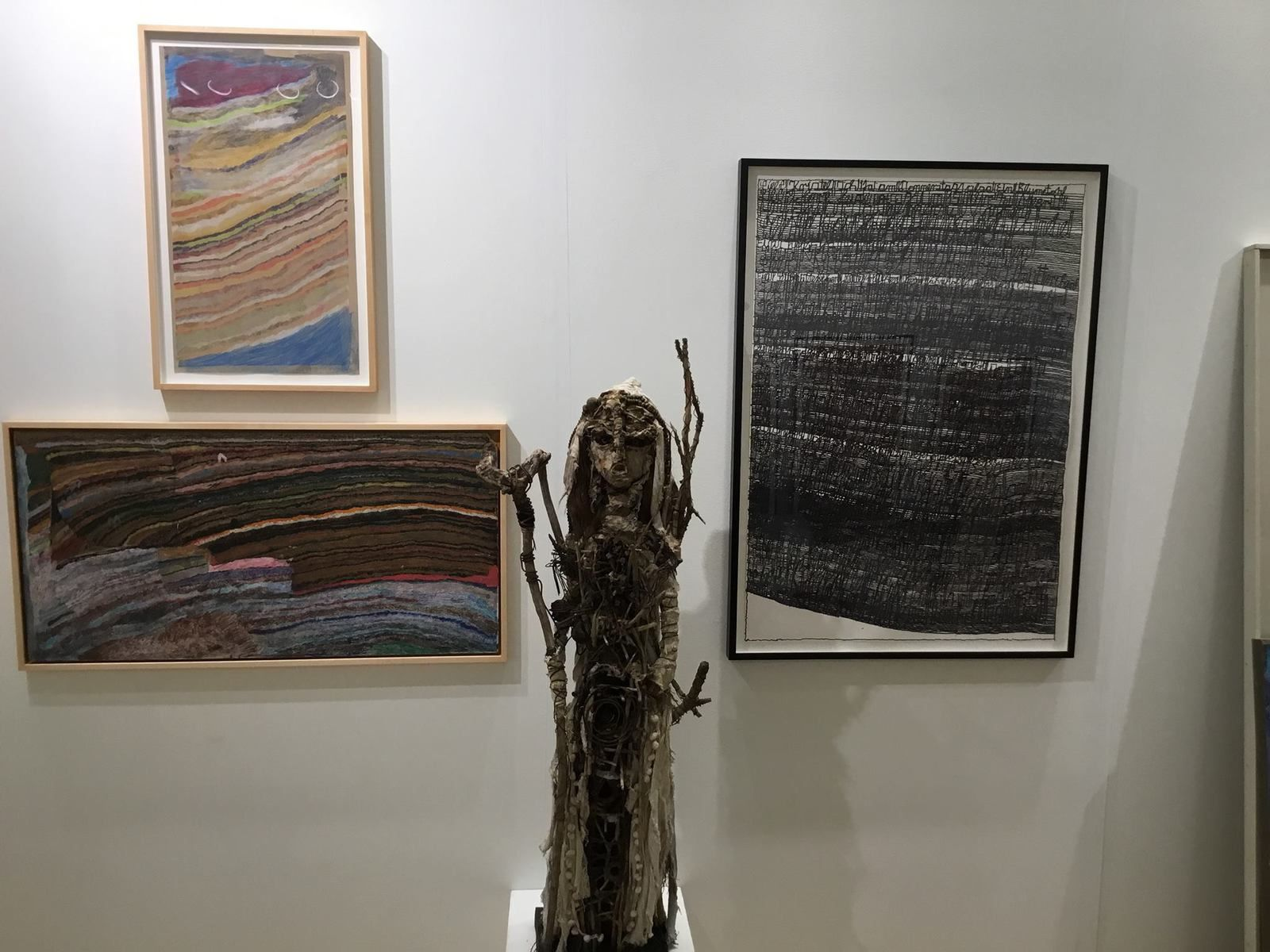 Outsider Art Fair New York 2016 avec la Galerie Cavin-Morris