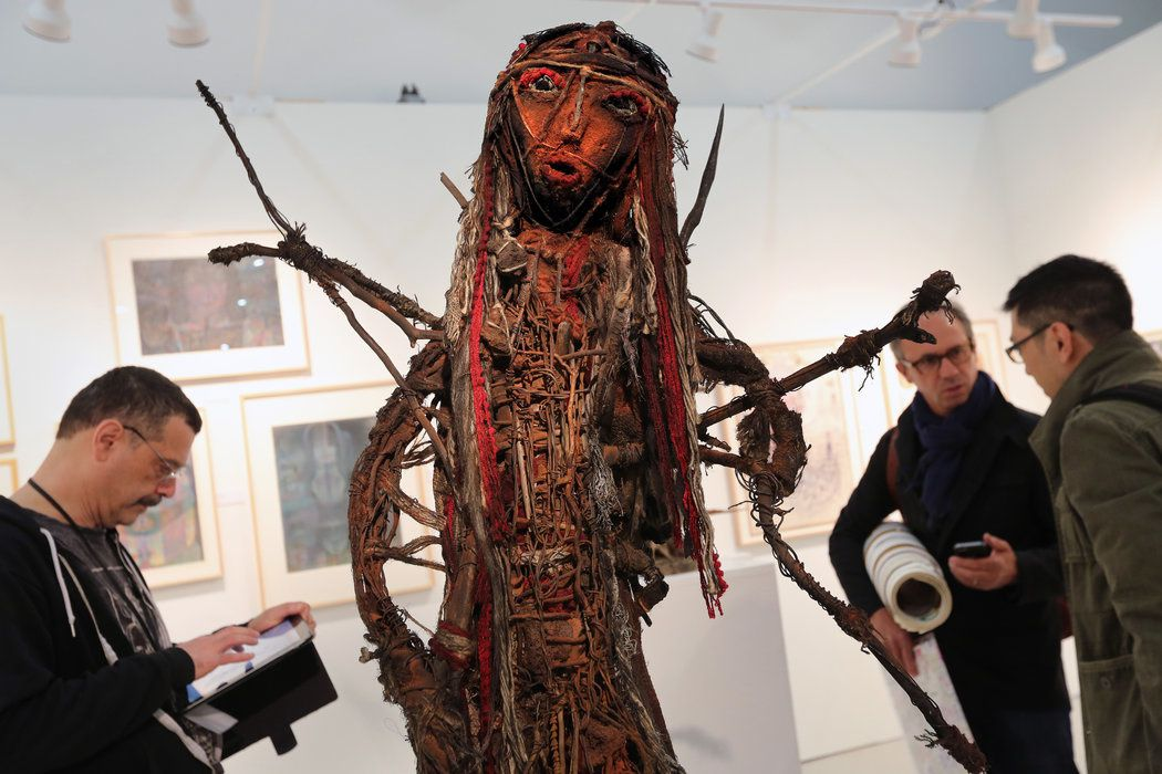 Outsider Art Fair 2014, Cavin-Morris Gallery