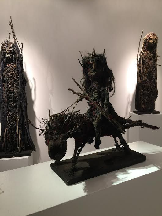 Exposition Forest Amuletum à la galerie Cavin-Morris, 2015