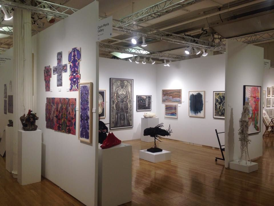 Outsider Art Fair New-York, stand Cavin-Morris Gallery, 2017