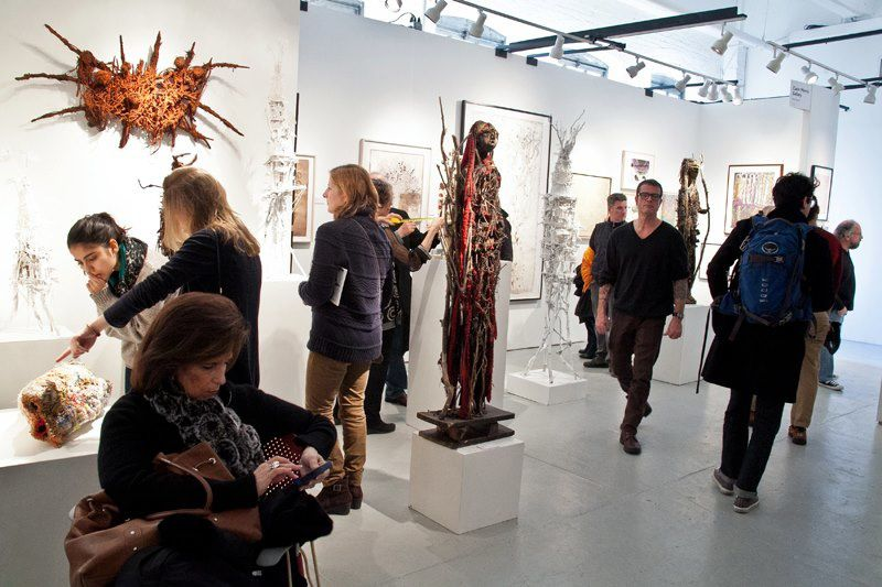 Outsider Art Fair New-York, stand Cavin-Morris Gallery, 2013