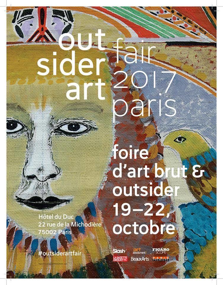 Exposition Outsider Art Fair Paris 2017