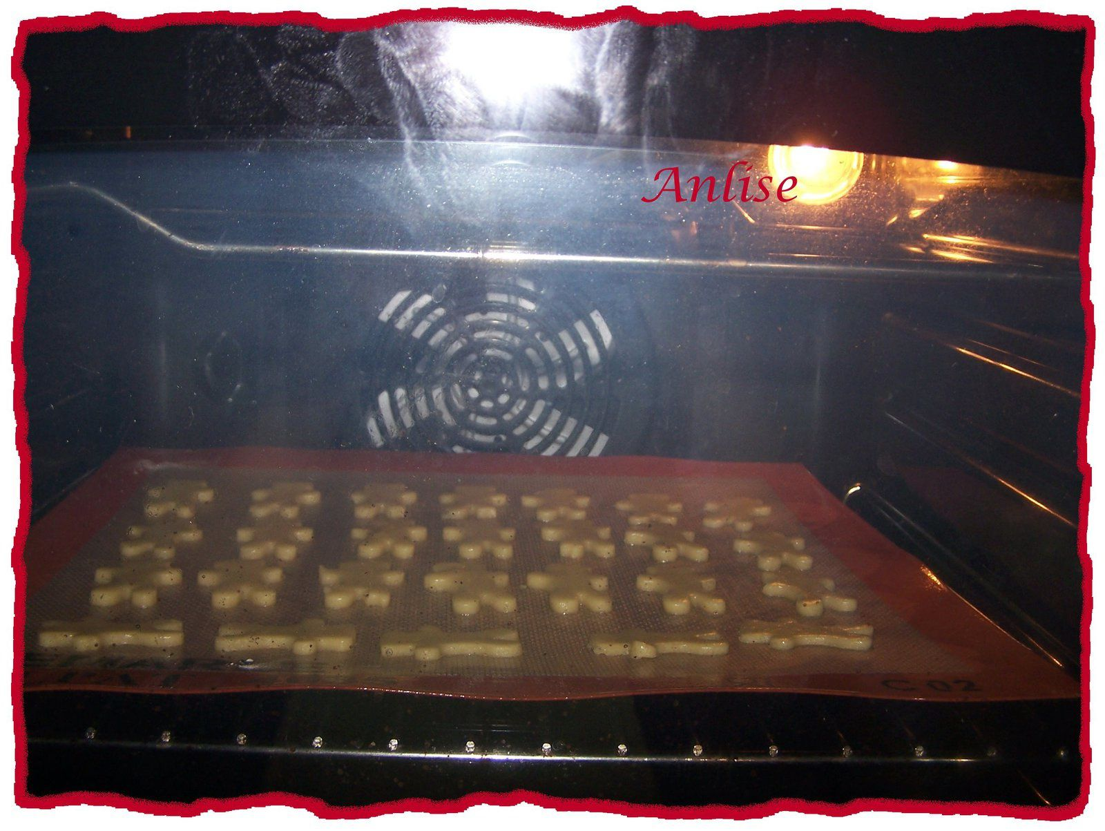 Vanilleplätzchen - Biscuit de Noël à la vanille au Cook'In