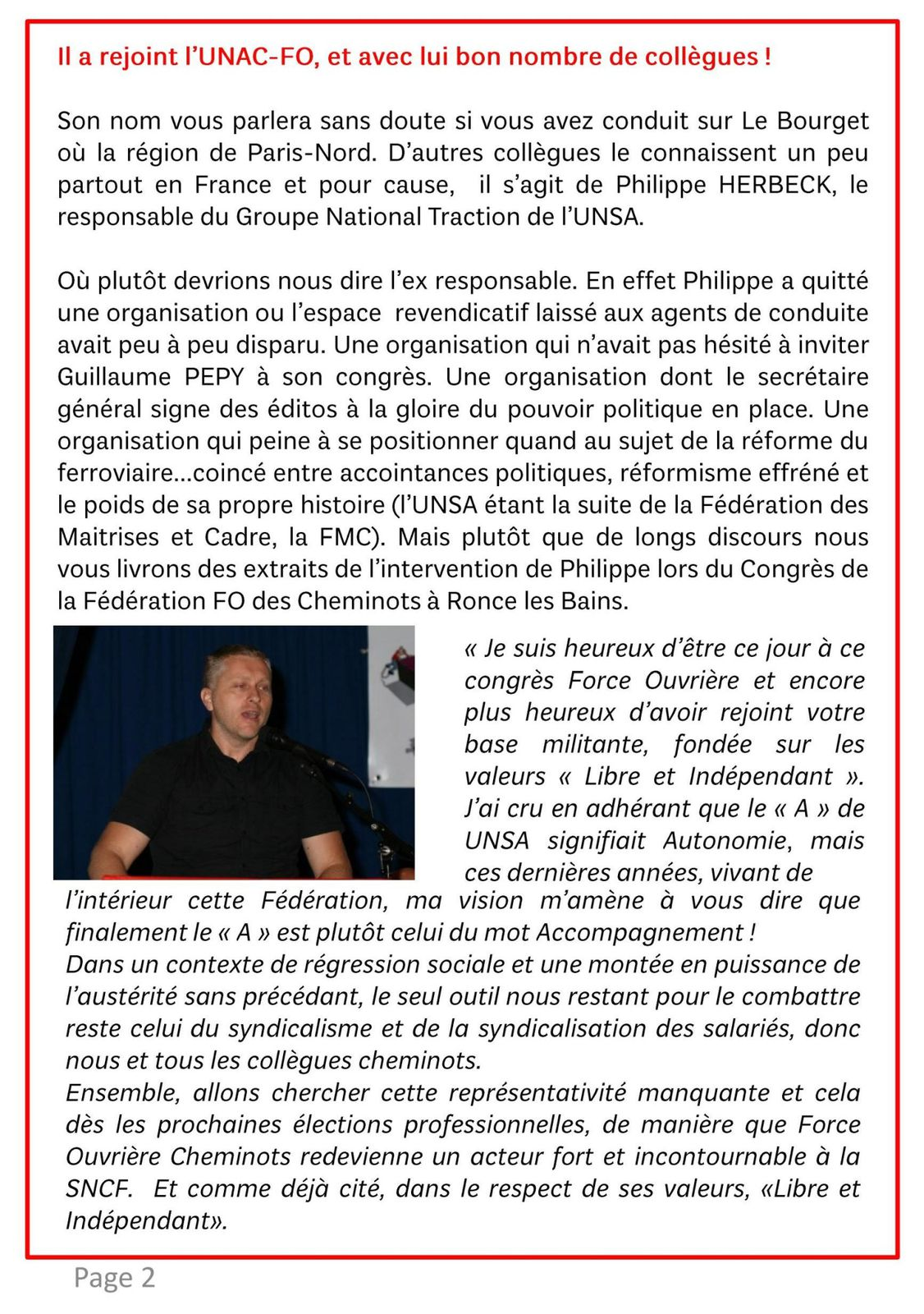 TRACTIONNAIRE OCTOBRE- 26 10 2013