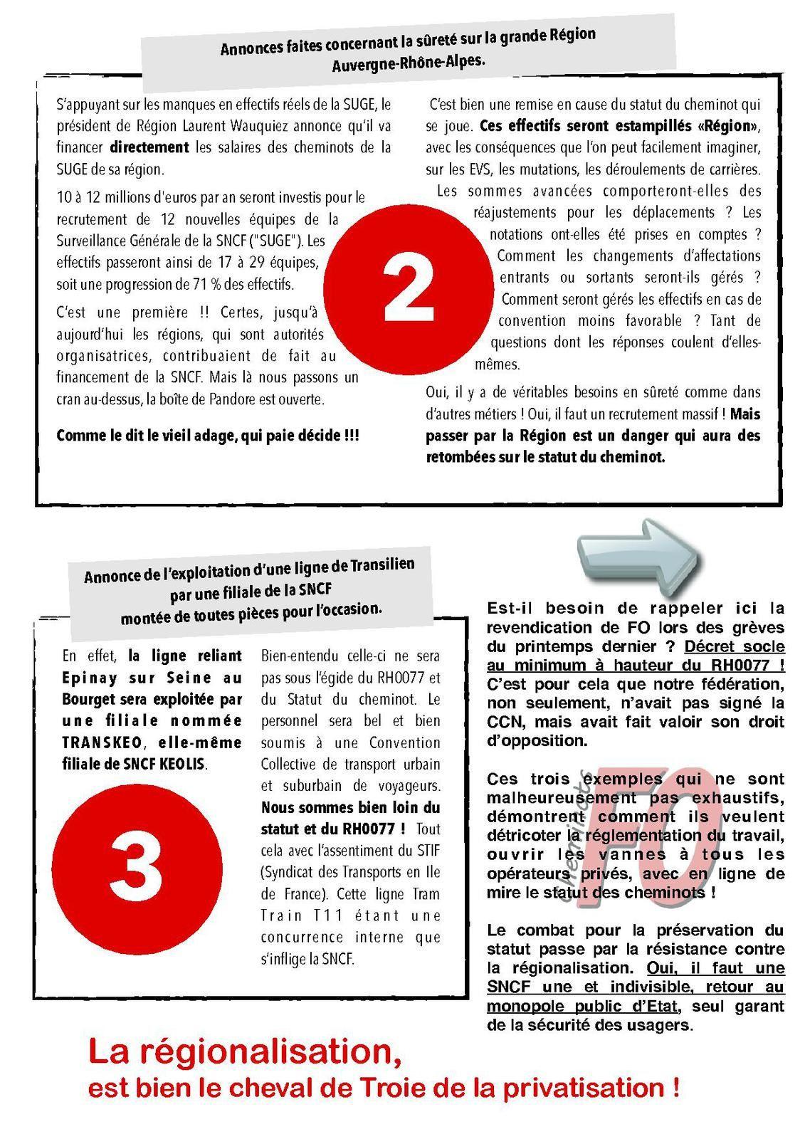 la voie de la privatisation 01-12-2016