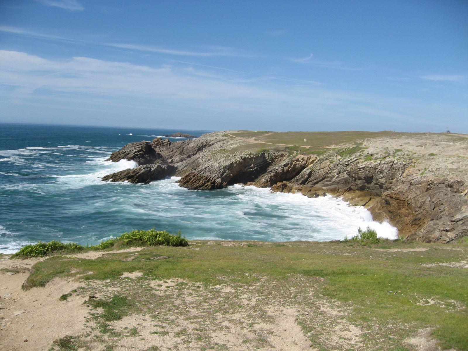 ... et de nombreux arrêts pour admirer les vagues !